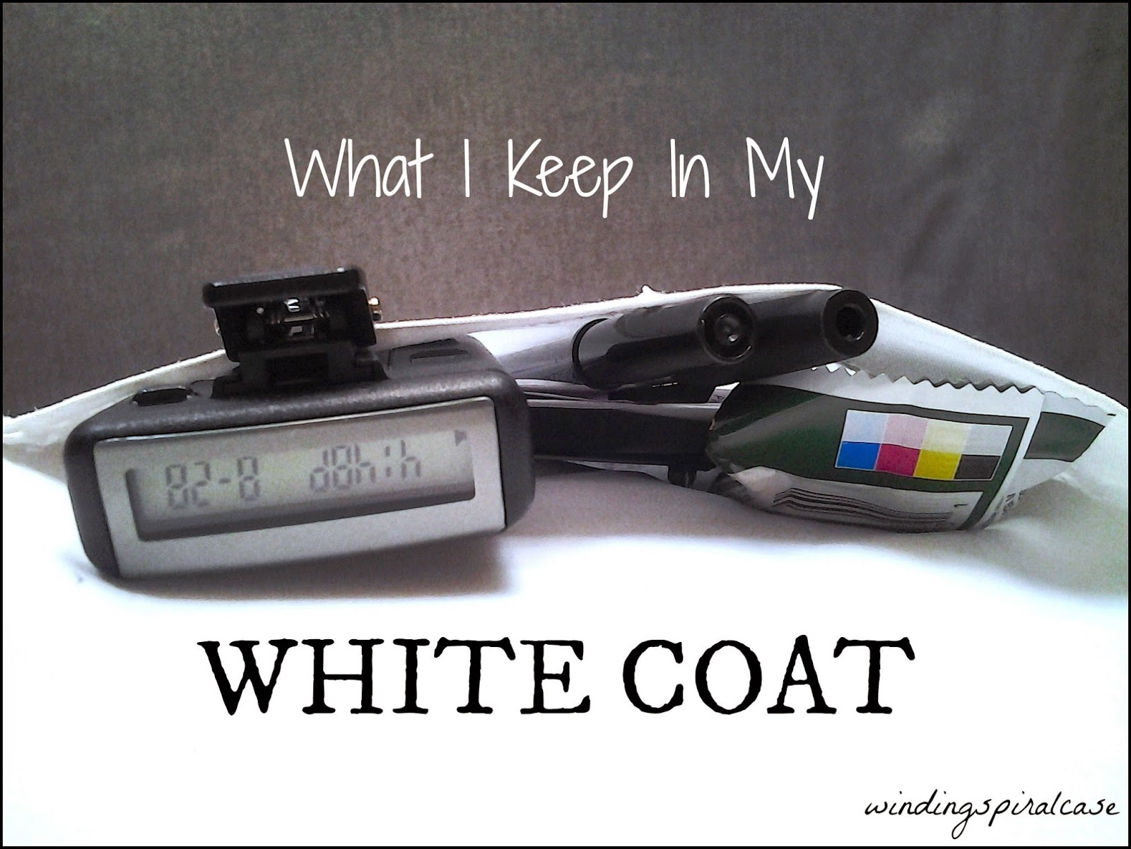 medical school residency doctor white coat pager