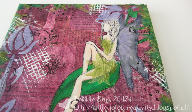 Mixed Media Monday ~ Fairy Details