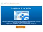 Programació de visites per internet