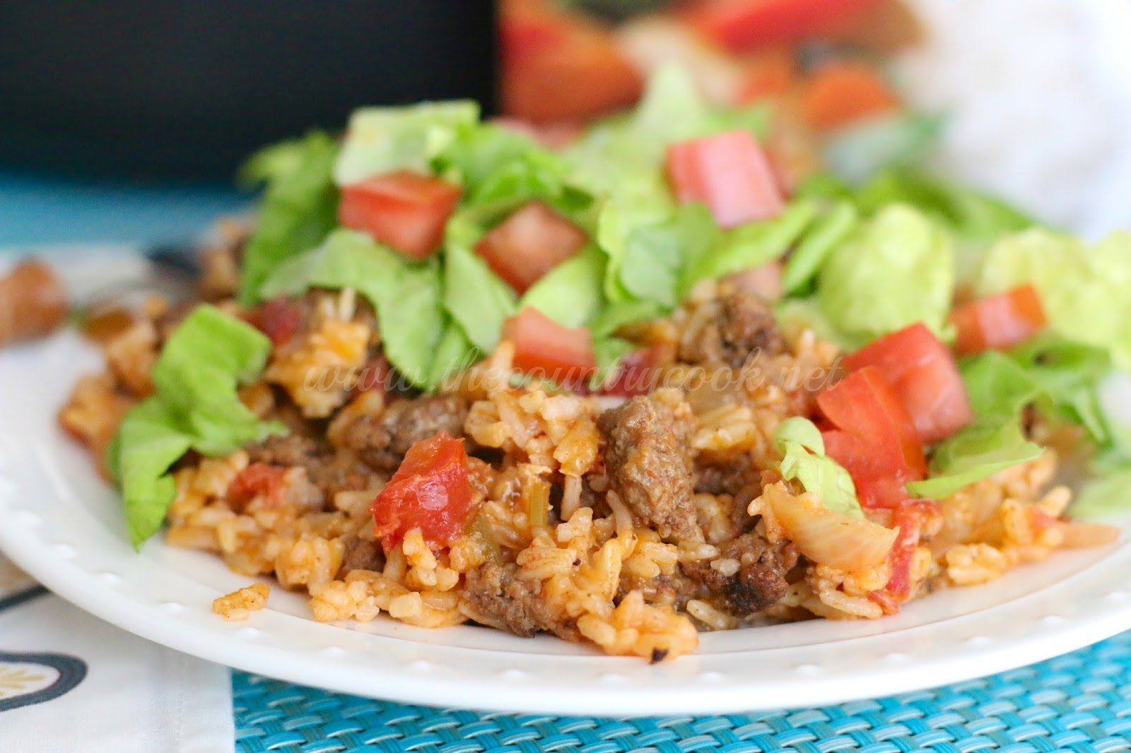 I Love My Mom S Spanish Rice So I Figured Why Not A Taco Version And Let Me Tell You This Turned Out Crazy Good And It Made For Awesome Leftovers