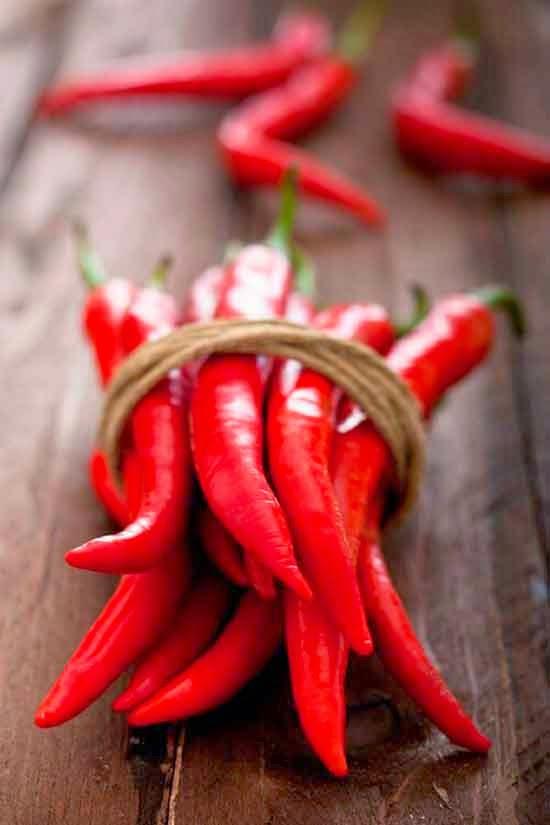 cocina y rojo