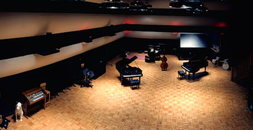 Ben Folds Nashville Studio - the old RCA Studio A image