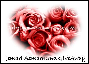 Jemari Asmara 2nd GiveAway!!