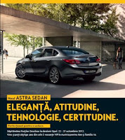 Noul Opel Astra Sedan