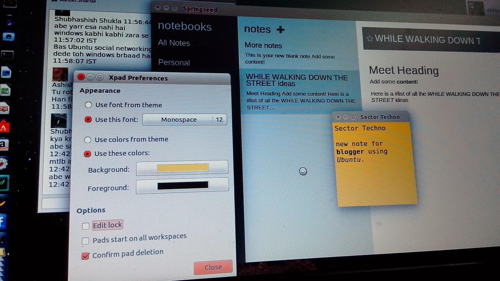 ubuntu for bloggers