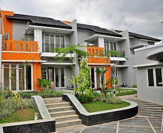 Foto rumah mega residence
