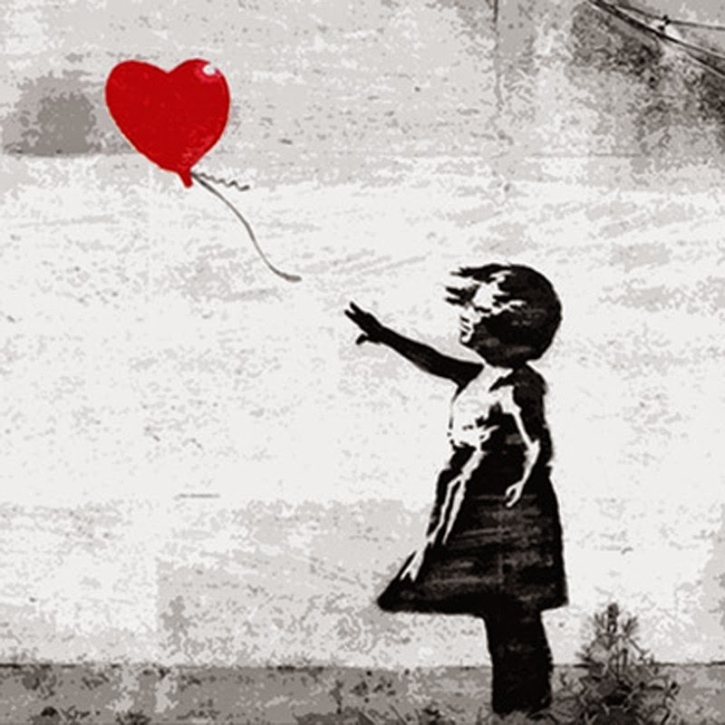 15 Of Banksy's Most Iconic Street Artworks - Girl With The Heart Balloon