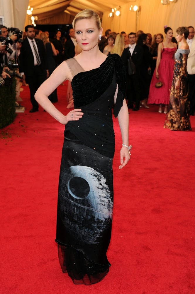 Kirsten Dunst, Met Gala 2014 Red Carpet