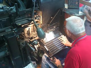 Linotypeのキーボード