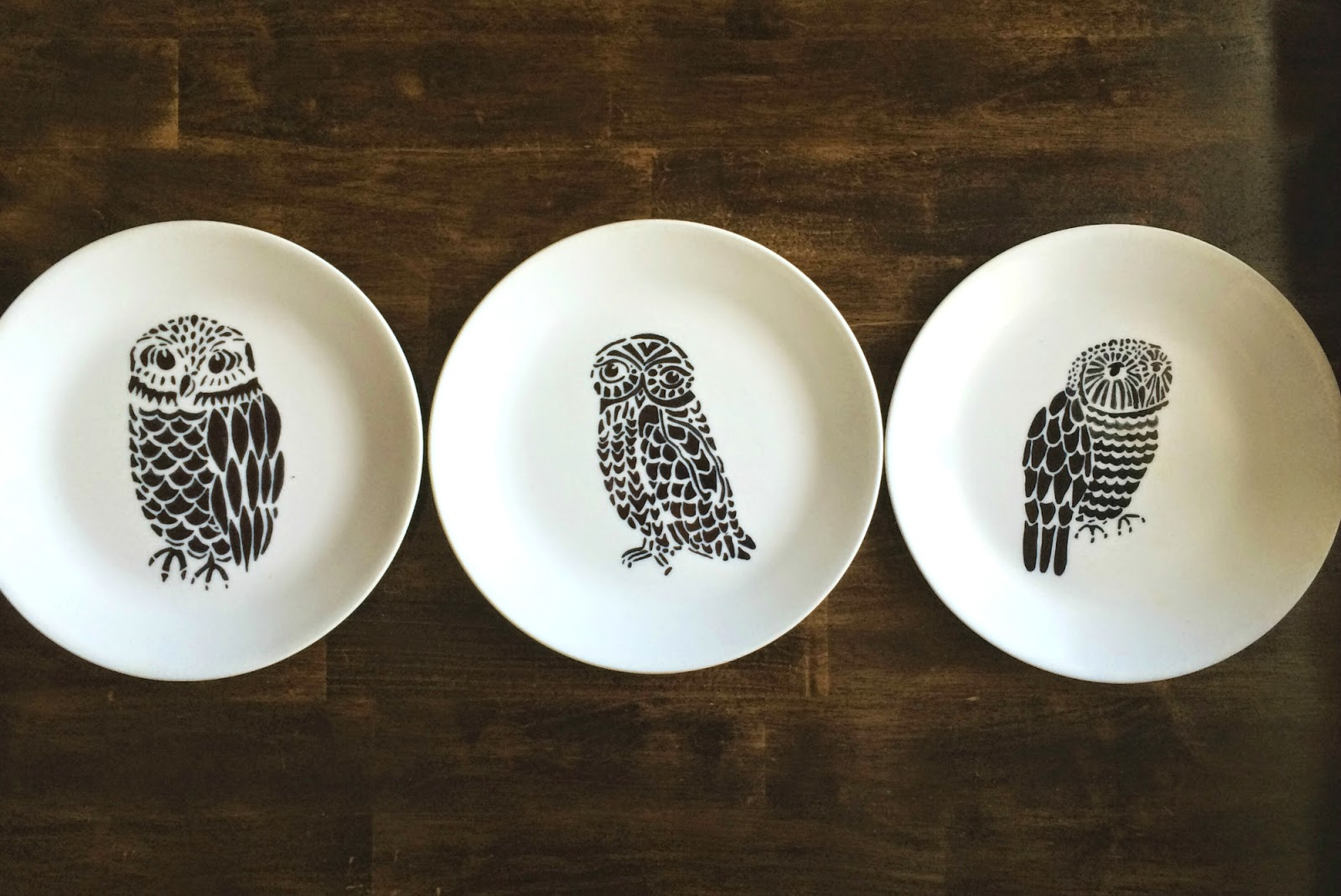 designer plates - stencilgirl talk porcelain plates and stencils by stencilgirl