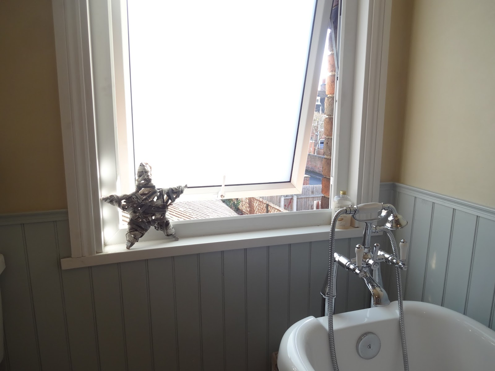 Window film for bathroom