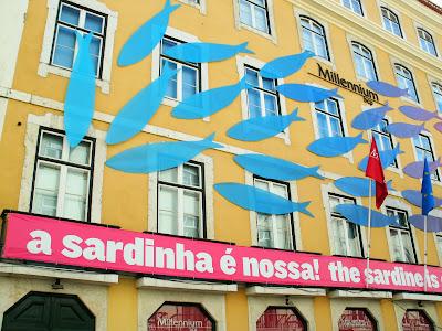 """exposição """"A Sardinha é Nossa!  BCP Mileinium em LISBOA"""