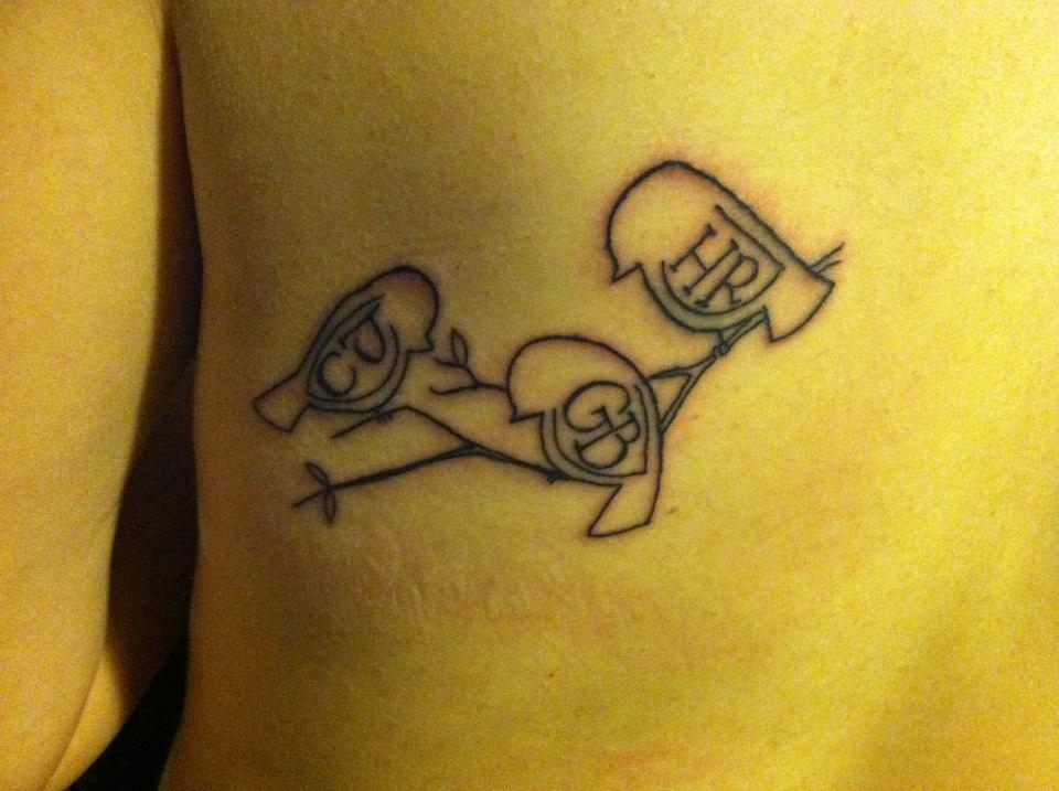 Team patrouch three little birds tattoo edition for Three little birds tattoo