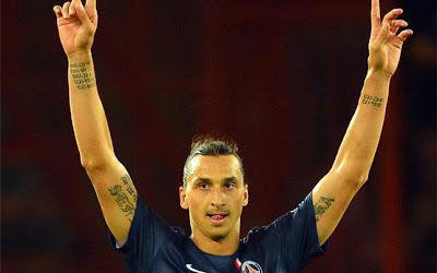 Zlatan: «Para jugar bien, tengo que estar loco»