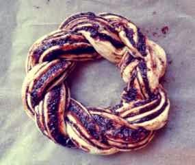 kue coklat chestnut