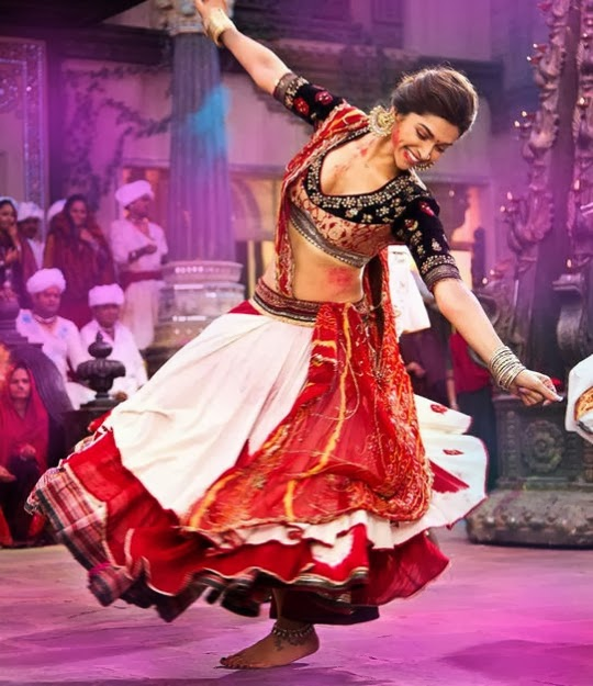 Deepika Padukone in the movie Ramleela