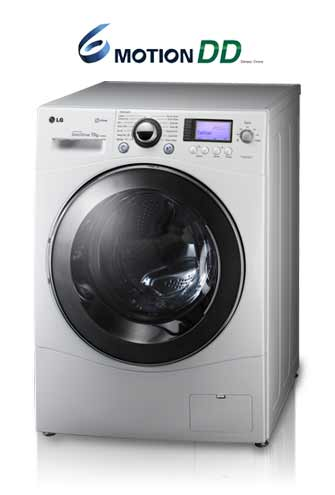 Latest technology review and price lg f1480tdp25 8kg 6 for Lg washing machine motor price