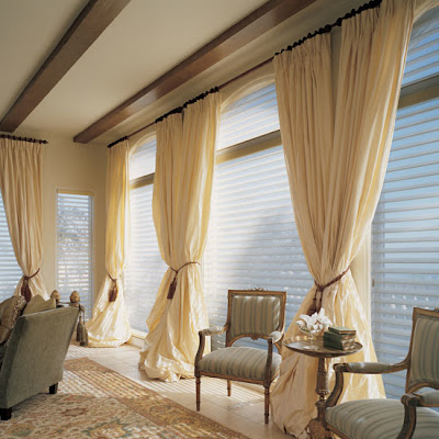 Curtains+And+Draperies+In+Home+Interior+Design++Silhouette