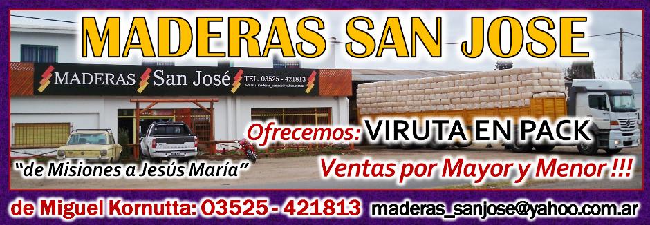 MADERAS SAN JOSE