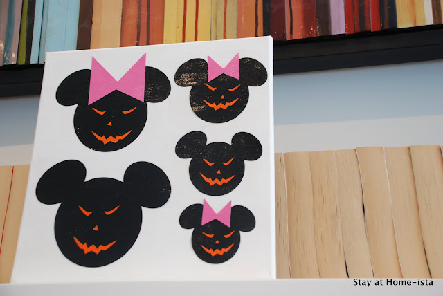 Halloween Mickey Mouse Craft