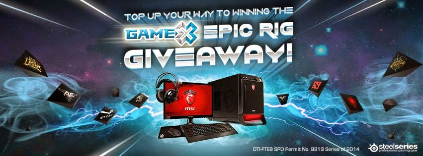 GameX Epic Rig Giveaway Promo