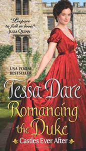 book cover for Romancing the Duke