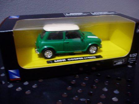 Jual Mainan Diecast Newray Mini Cooper 1959