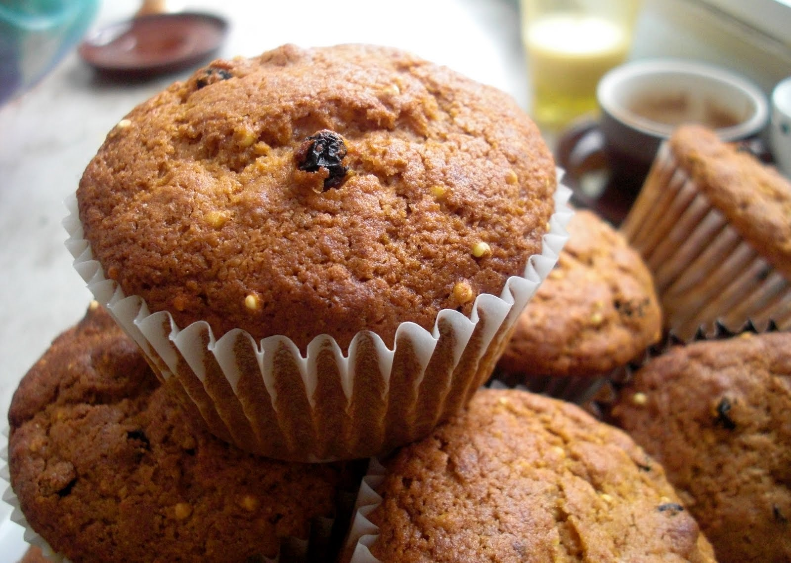 tagan 39 s kitchen muffins for a cool winter morning. Black Bedroom Furniture Sets. Home Design Ideas