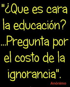 Educación vs ignorancia