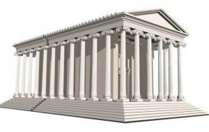 Ναός της αφροδίτης - ο παρθενώνας της