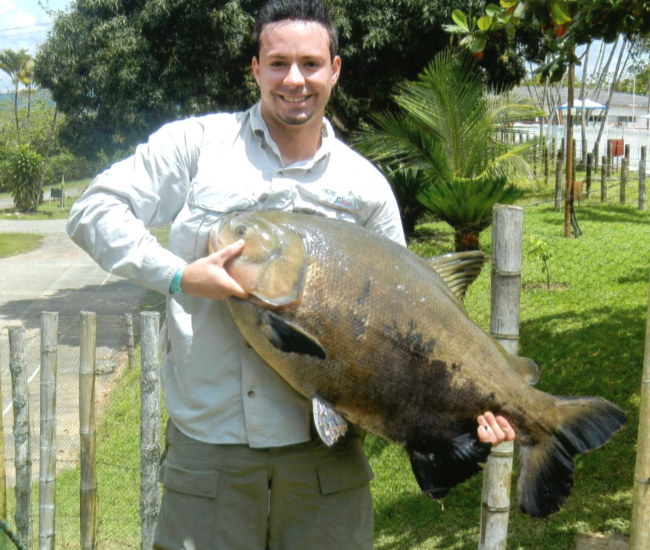 Freshwater fish in hawaii - Angler Raymond Heredia Orosco Of Highland Indiana Usa Recently Traveled To Colombia For A Change Of Scenery And To Do Some Freshwater Fishing