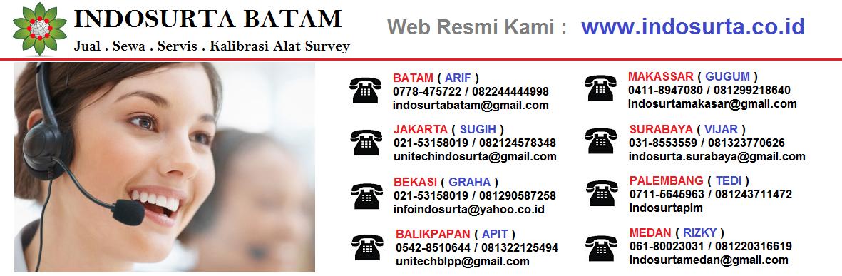 INDOSURTA BATAM | Jual Sewa Servis Kalibrasi Alat Survey.