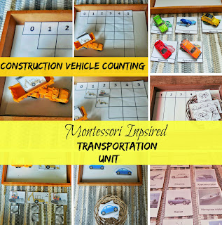 Vehicle toddler activities by Welcome to Mommyhood [Montessori inspired] #toddleractivities, #Montessori