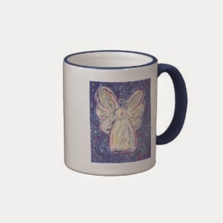 Starry Night Angel Mug