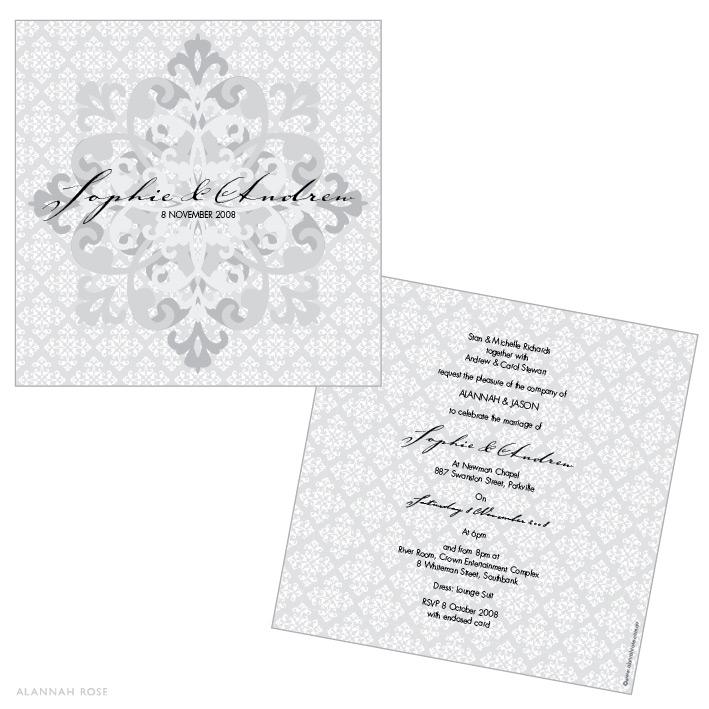 Silver Wedding Invitations Wording: Silver Wedding Invitations