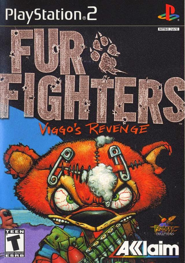 Fur Fighters - Viggo's Revenge Español Ps2 Iso Ntsc Juegos Para PlayStation 2