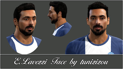 E. Lavezzi Face by Tunizizou