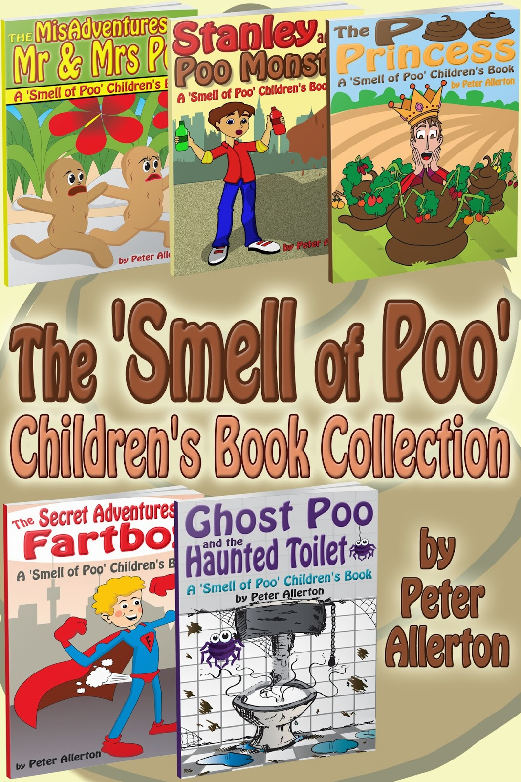 funny children's poo book allerton