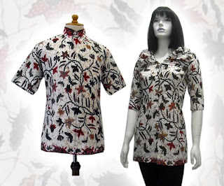 baju batik 2012 modern