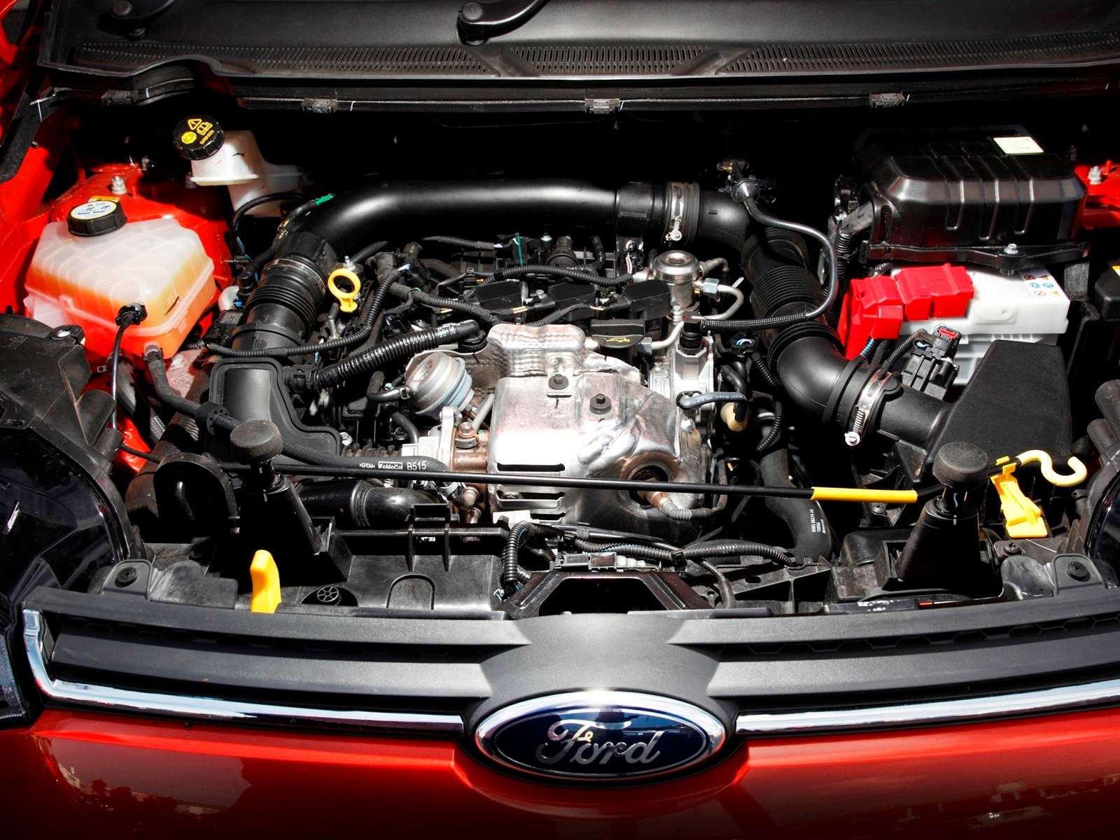 Most compact engine in its class
