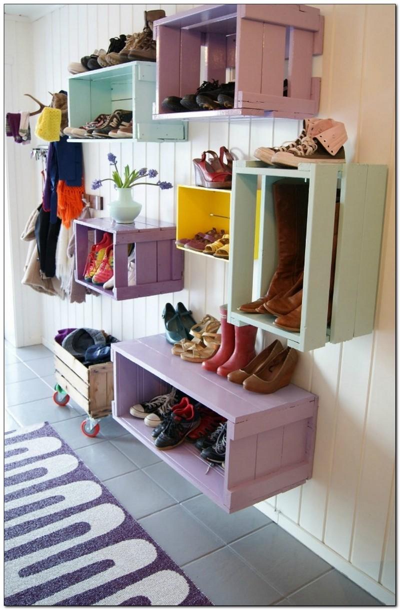 Decoracion-de-entradas-de-casas-para-colocar-zapatos