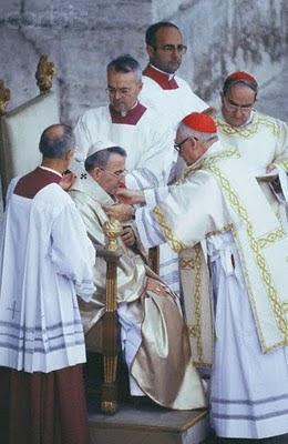 Misa inaugural del papa Juan Pablo I, año 1978