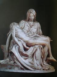 La Piedad, de Miguel Angel, que se encuentra en El Vaticano