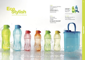 Tupperware Eco Bottle Spring (4units)-RM65 (free postage)