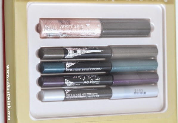 Mizon Parisien Eye Stage Collection mini eyeliner set