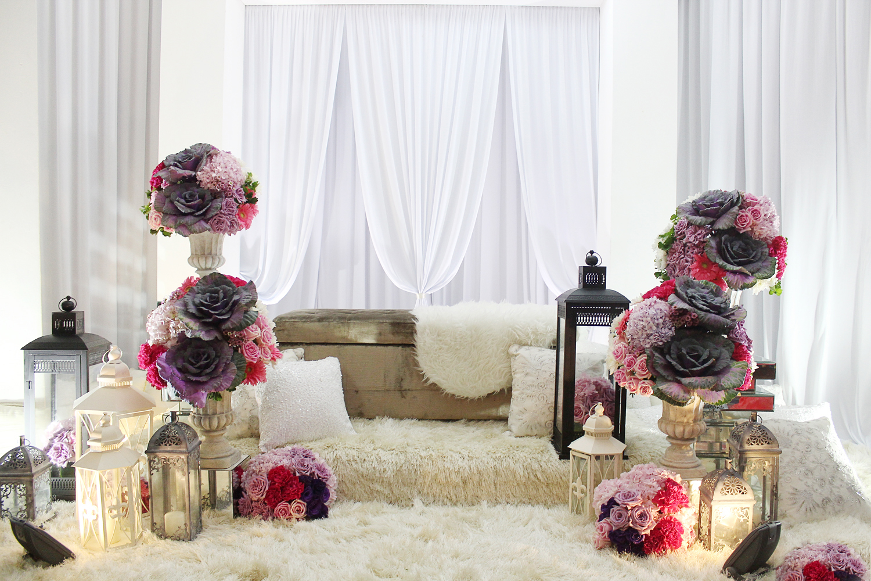 Ratio Design: {Ariane} Nabila & Anuar Wedding Decor