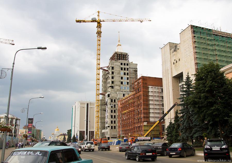 Строящийся корпус университета | Building of the University under construction