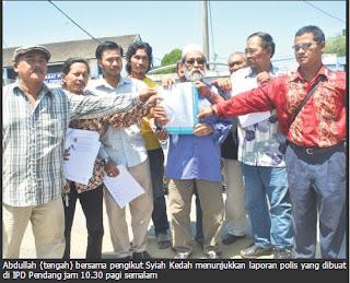 Ketua Syiah Kedah Diugut Bunuh