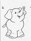 """""""desenho elefante para pintar"""""""