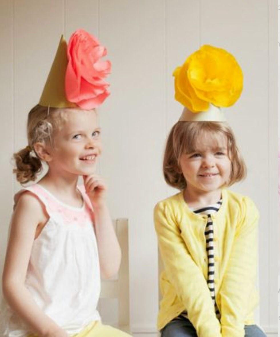 Как сделать шляпку из бумаги на голову для ребенка